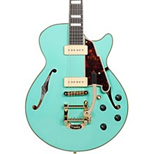 D'Angelico Excel Series Shoreline SS Bigsby Tailpiece Semi-Hollowbody Electric Guitar