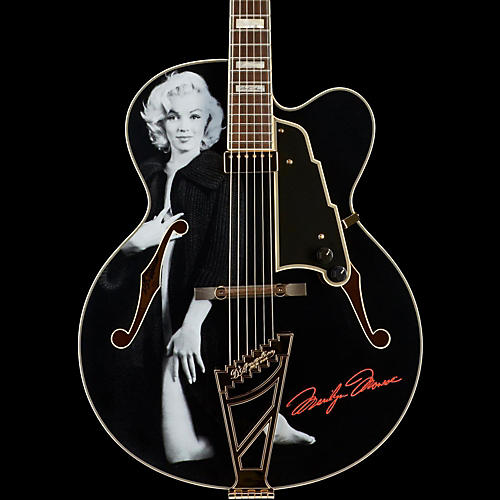 D'Angelico Excel Series Special Edition Edition Marilyn Monroe EXL-1 Hollowbody Electric Guitar with Stairstep Tailpiece