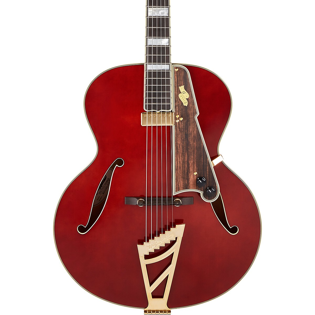 D'Angelico Excel Series Style B Throwback Hollowbody Electric Guitar with USA Seymour Duncan Floating Mini Humbucker