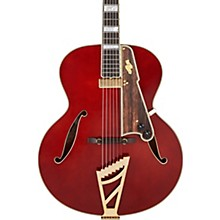 Excel Series Style B Throwback Hollowbody Electric Guitar with USA Seymour Duncan Floating Mini Humbucker Viola