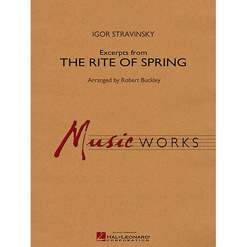 Hal Leonard Excerpts From The Rite Of Spring Concert Band Level 4
