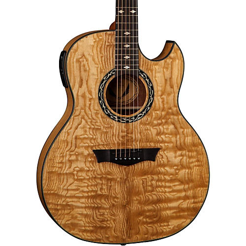 Dean Exhibition Quilt Ash Acoustic-Electric Guitar with Aphex