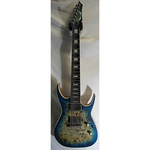 Dean Exile Select Burled Poplar 7 String Solid Body Electric Guitar