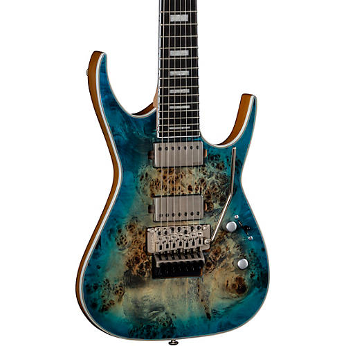 Dean Exile Select Burled Poplar with Floyd 7-String Electric Guitar