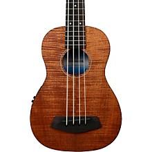 Kala Exotic Mahogany U-Bass Ukulele Bass Fretted Level 1 Natural