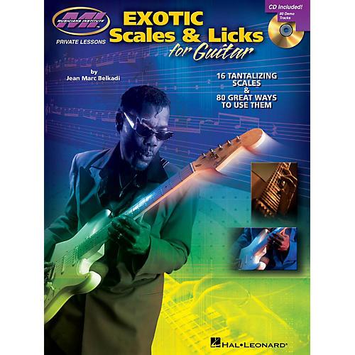 Musicians Institute Exotic Scales & Licks for Electric Guitar Musicians Institute Press BK/CD by Jean Marc Belkadi