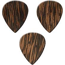 Clayton Exotic Wedge Wood Guitar Picks - 3 Pack