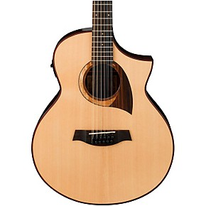 ibanez exotic wood aew2212cd nt 12 string acoustic electric guitar guitar center. Black Bedroom Furniture Sets. Home Design Ideas