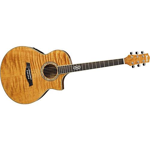 Exotic Wood Acoustic Guitars : ibanez exotic wood series ew20fhe acoustic electric guitar natural guitar center ~ Russianpoet.info Haus und Dekorationen