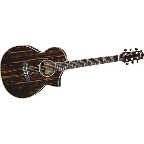 Ibanez Exotic Wood Series EWC30EBE Acoustic-Electric Guitar
