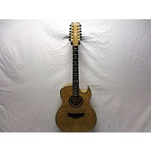 Dean Exotica 12 String Ultra Quilt Ash 12 String Acoustic Electric Guitar