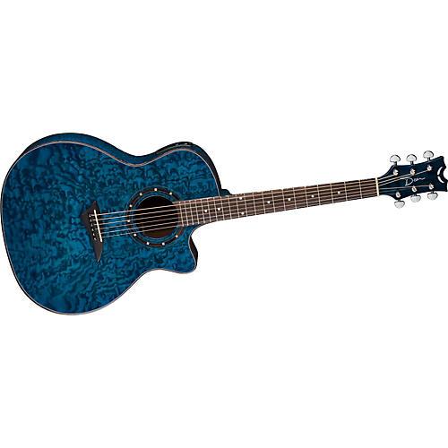 dean exotica quilt ash acoustic electric guitar w aphex guitar center. Black Bedroom Furniture Sets. Home Design Ideas