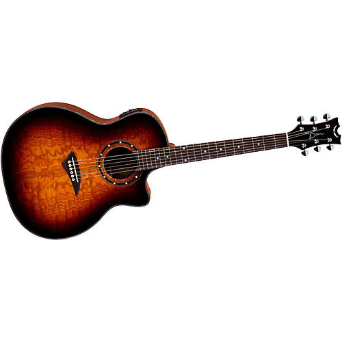 Dean Exotica Ultra Quilt Ash Acoustic-Electric Guitar