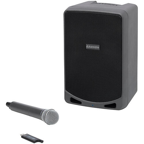 Samson Expedition XP106w Portable PA with Handheld Wireless Microphone