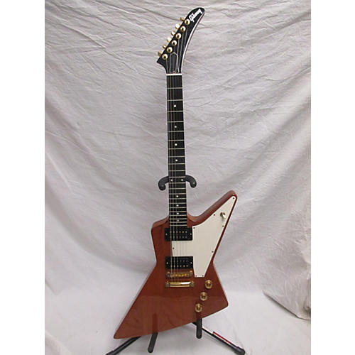 used gibson explorer solid body electric guitar natural guitar center. Black Bedroom Furniture Sets. Home Design Ideas