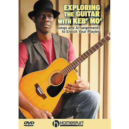 Homespun Exploring The Guitar with Keb' Mo' DVD with Tab