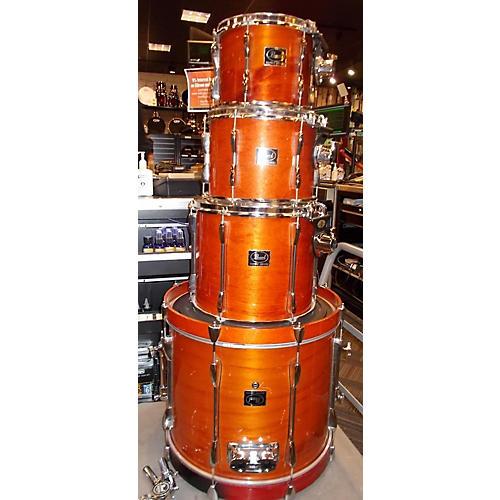 used pearl export drum kit amber guitar center. Black Bedroom Furniture Sets. Home Design Ideas