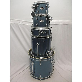 used pearl export drum kit blue guitar center. Black Bedroom Furniture Sets. Home Design Ideas