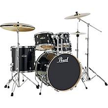 Export EXL New Fusion 5-Piece Drum Set with Hardware Black Smoke