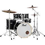 Pearl Export New Fusion 5-Piece Drum Set with Hardware Jet Black