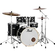 Export New Fusion 5-Piece Drum Set with Hardware Jet Black