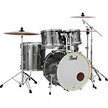 Export Standard 5-Piece Drum Set with Hardware Smokey Chrome