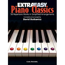 Carl Fischer Extra Easy Piano Classics Book