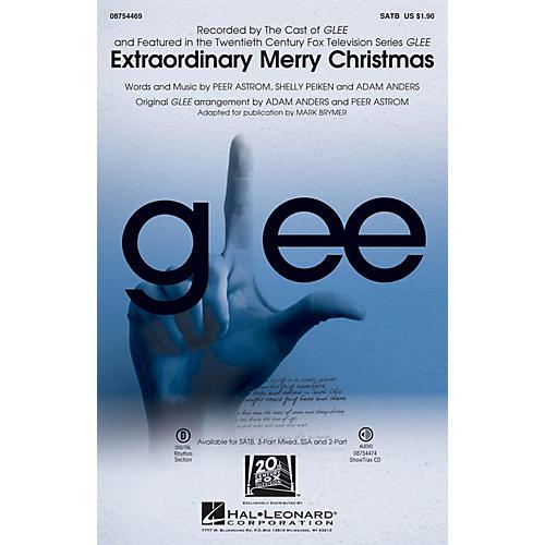Hal Leonard Extraordinary Merry Christmas ShowTrax CD by Glee Cast Arranged by Mark Brymer