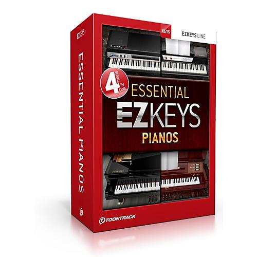Toontrack Ezkeys Essential Pianos Software Download