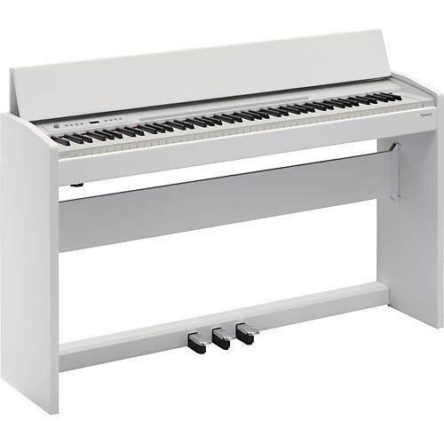 Roland F-120 SuperNATURAL Piano (White)