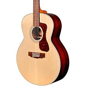 guild f 1512e 12 string acoustic electric guitar natural guitar center. Black Bedroom Furniture Sets. Home Design Ideas