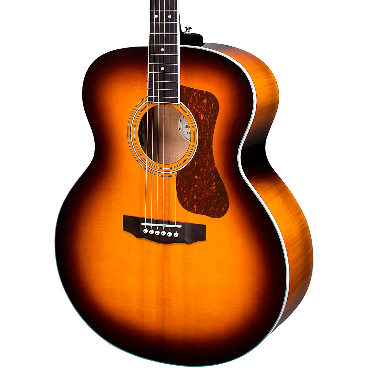 Guild F-250E Deluxe Jumbo Acoustic-Electric Guitar