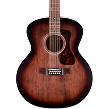 F-2512E Jumbo 12-String Acoustic-Electric Guitar Charcoal Burst