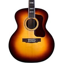 F-512 Maple Jumbo 12-String Acoustic Guitar Antique Burst
