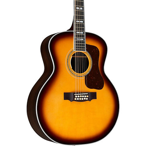 Guild F-512E Jumbo Acoustic-Electric Guitar
