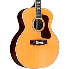 F-512E Jumbo Acoustic-Electric Guitar Natural