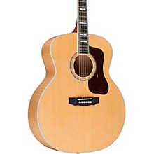 F-55E Maple Jumbo Acoustic-Electric Guitar Natural