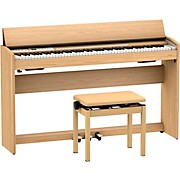 F-701 Digital Home Piano Light Oak
