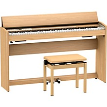 F-701 Digital Home Piano Light Oak