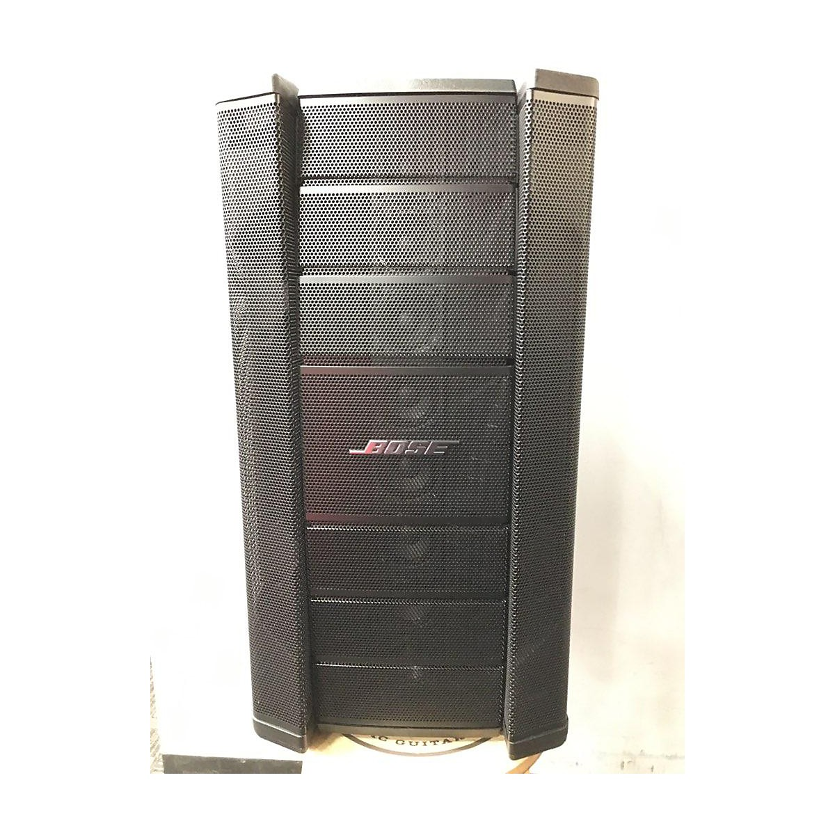 Bose F1 Model 812 Line Array Speaker System AND F1 Powered Subwoofer Powered Speaker