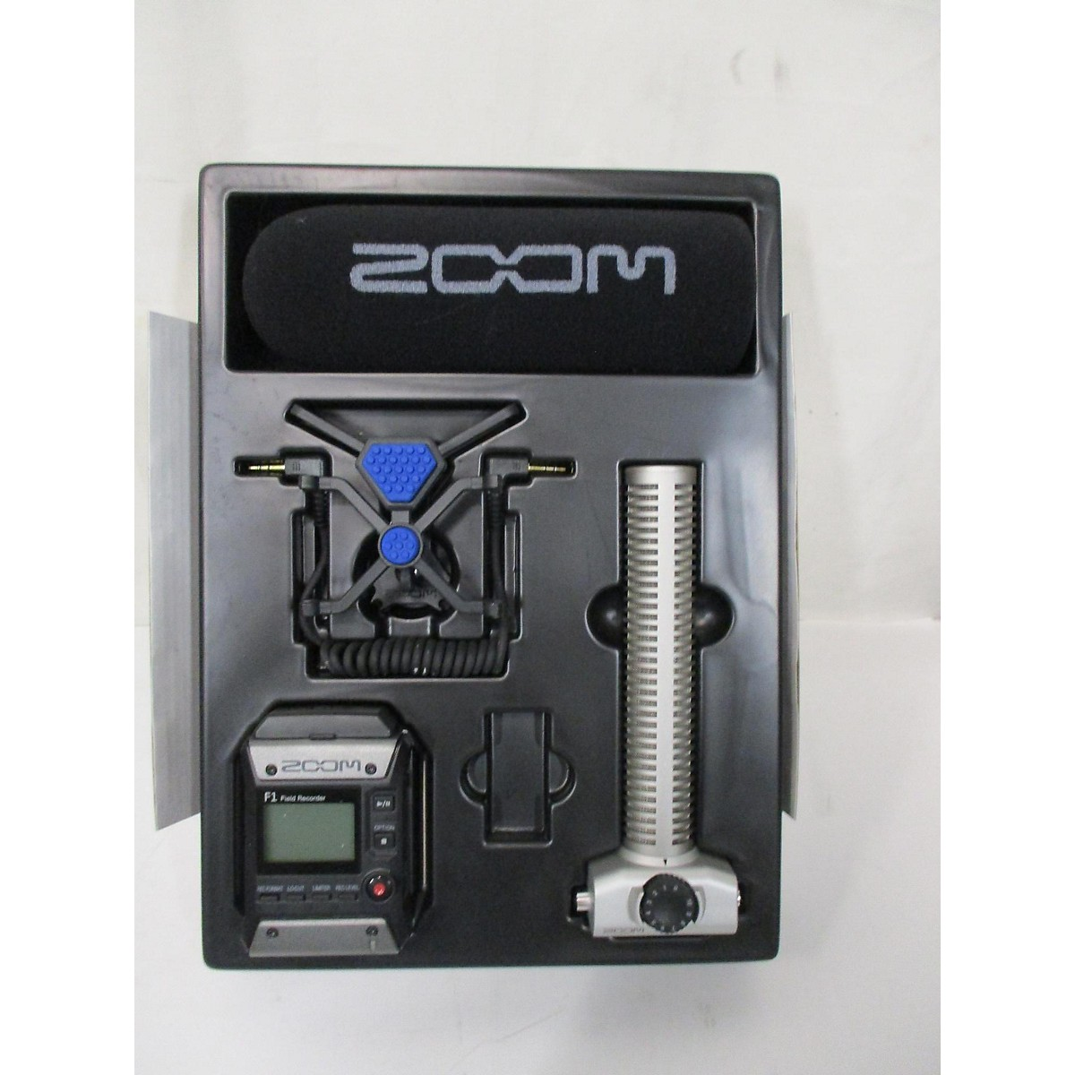 Zoom F1 Recording Microphone Pack