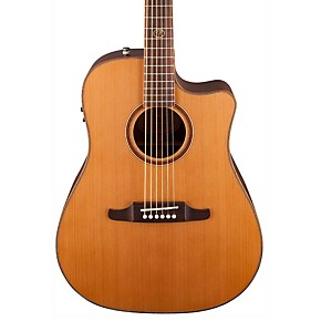 fender f1020sce cutaway dreadnought acoustic electric guitar guitar center. Black Bedroom Furniture Sets. Home Design Ideas