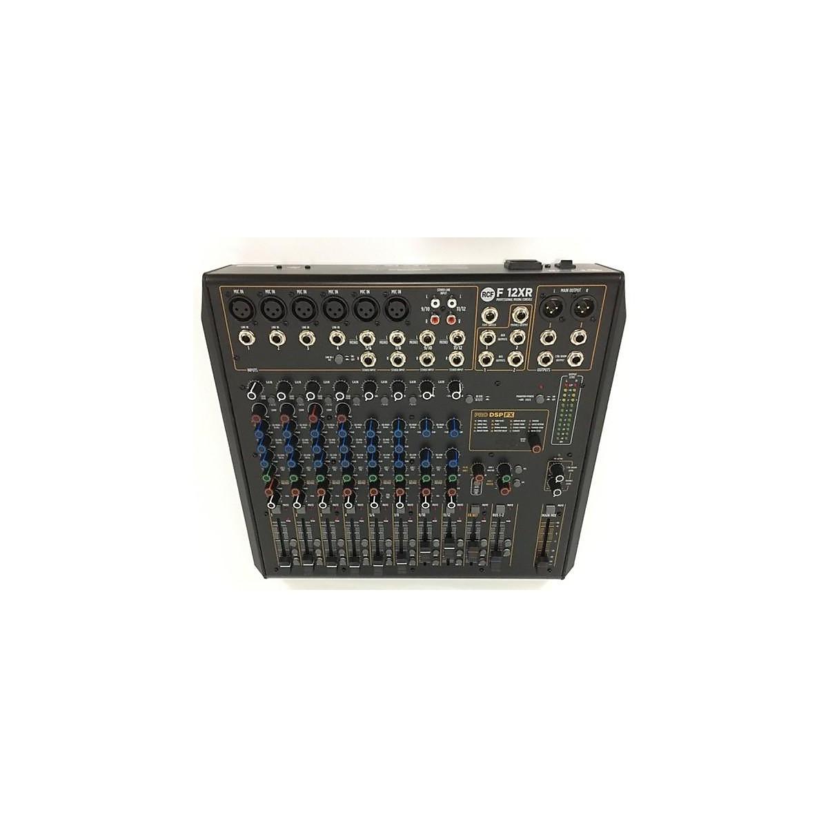 RCF F12 XR Powered Mixer