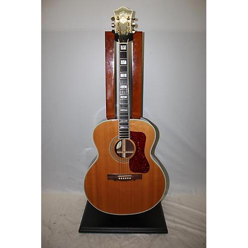 used guild f50r jumbo acoustic guitar natural guitar center. Black Bedroom Furniture Sets. Home Design Ideas