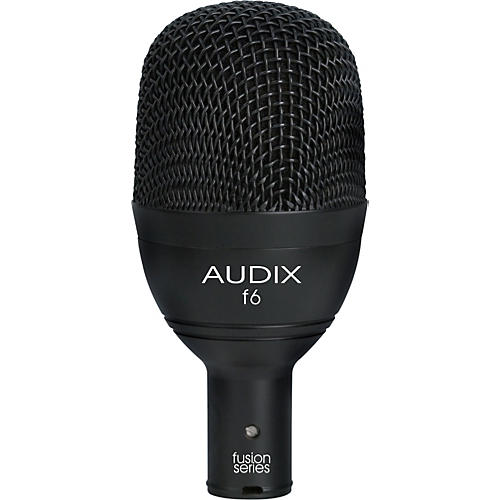 Audix F6 Kick Drum & Bass Frequencies Microphone