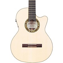 F65CW Fiesta Cutaway Acoustic-Electric Classical Guitar Level 2 Natural 190839339027