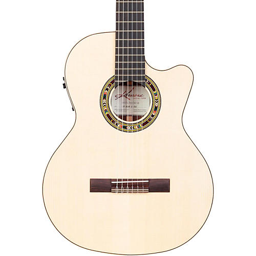Kremona F65CW Fiesta Cutaway Acoustic-Electric Classical Guitar