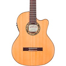 Kremona F65CW TL Thin Bodied Nylon-String Acoustic-Electric Guitar