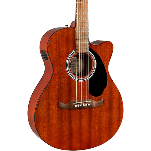 Fender FA-135CE All-Mahogany Concert Acoustic-Electric Guitar
