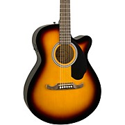 FA-135CE Concert Acoustic-Electric Guitar 3-Color Sunburst